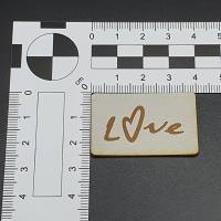 Kunstlederlabel Love Bild 5