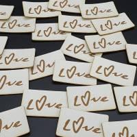Kunstlederlabel Love Bild 6
