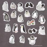"""Sticker-Set """"Pinguine"""", 20-teilig  Bild 1"""