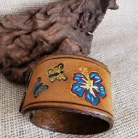 "Lederarmband ""Love"" , LEDER Armband, geprägt, (RLA53)  Bild 3"