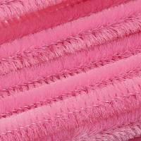 Biegeplüsch Pfeifenputzer Chenilledraht Rosa Bild 1