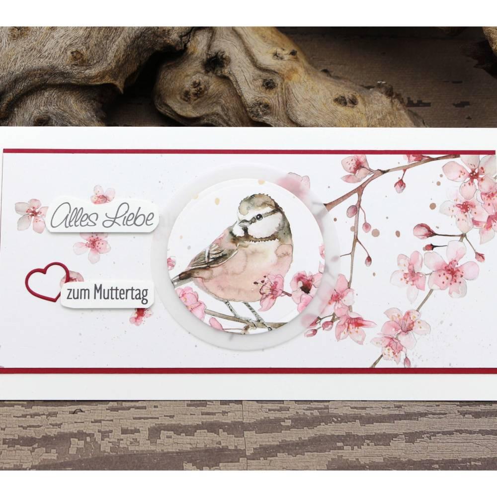 Karte zum Muttertag, Grußkarte zum Muttertag, Danke - Mama Bild 1