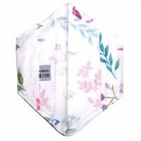 """Überzug für FFP2 Maske """"Aquarellblumen"""" - einlagig - 100% Baumwolle - Waschbar - Stoffhülle - Stoffüberzug Bild 3"""