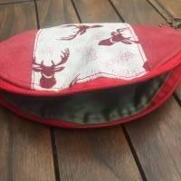 Maskentasche Krimskramtasche HIRSCHE Tasche für Mundnasenmaske  Bild 3