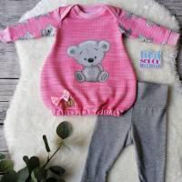 Gr. 56 Baby Set / Shirt / Pullover mit Leggings / Hose – Mädchen * Bär Bild 1