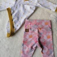 Gr. 50 Baby Set / Shirt / Pullover mit Leggings / Hose – Mädchen * Krone Bild 2