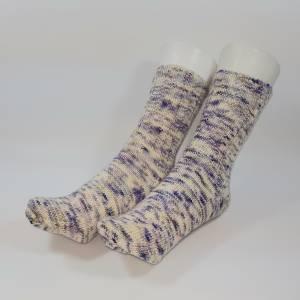 Handgestrickte Socken, Größe EU 36-37, handgefärbt, Unikat Bild 1