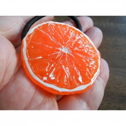 Orange  Haargummi verschiedene Designs kawaii sweet