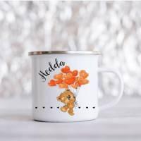 Personalisierte Tasse mit Namen Teddy  Bild 1