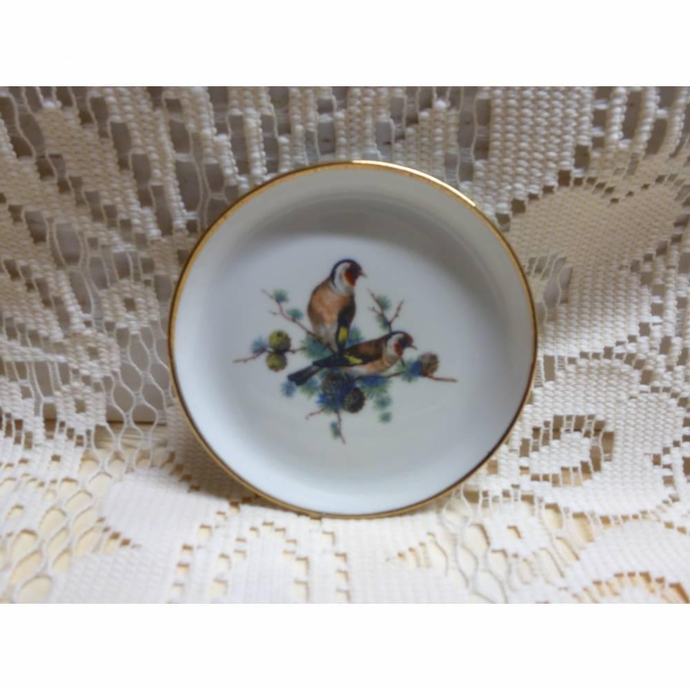 Vintage Porzellanteller für die Puppenküche Bild 1
