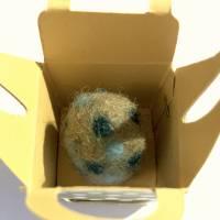 FilzEIER mit Neodym Magneten, verpackt in winzige CupCake Boxen - das eindeutig kleinste Oster-Mitbringsel Bild 5