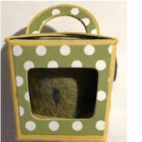 FilzEIER mit Neodym Magneten, verpackt in winzige CupCake Boxen - das eindeutig kleinste Oster-Mitbringsel Bild 6