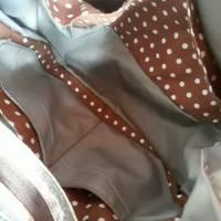 Rucksack oder Tasche?! Beides! Wandelbare Rucksacktasche in Holzoptik Bild 5
