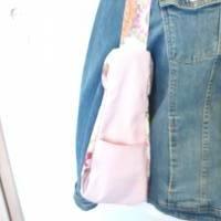 Handtasche / Schultertasche Mandala beige-multicolor-rosa Bild 3