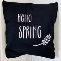 "Kissen ""Hello Spring"" Bild 1"