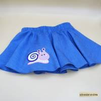 Jeans - Tellerrock für Kinder SCHNECKE Bild 1