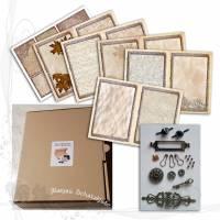 DIY-Starter-Kit für Junk-Journals *Rustikal 002*, keine Versandkosten Bild 1