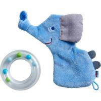 Windeltorte Elefant blau zur Geburt Bild 4
