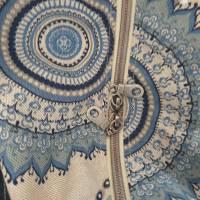 Handtasche / Schultertasche Mandala beige-multicolor-jeansblau Bild 8