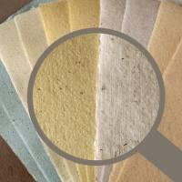 10 Blatt handgeschöpftes Papier, ca. 21 cm x 29,5 cm, Büttenpapier, Bastelpapier, Kaschierpapier Bild 1
