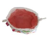 kleine Stofftasche mit Schmetterlingen, Geschenkbeutel, nachhaltig Bild 2
