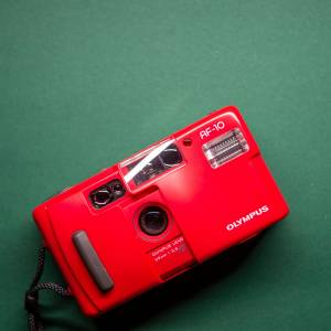 Olympus AF-10 | 35mm-Kamera | FILMTESTED | sehr guter Zustand | rot | Point-and-Shoot Bild 1