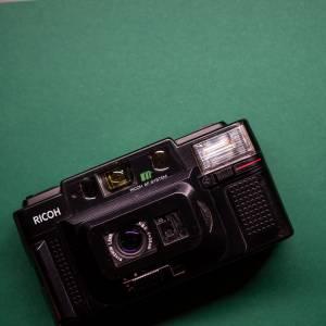 Ricoh FF-3 AF | 35mm-Kamera | FILMTESTED | guter Zustand | schwarz | Point-and-Shoot Bild 1