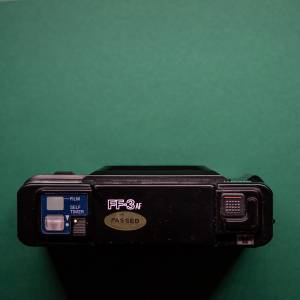 Ricoh FF-3 AF | 35mm-Kamera | FILMTESTED | guter Zustand | schwarz | Point-and-Shoot Bild 3