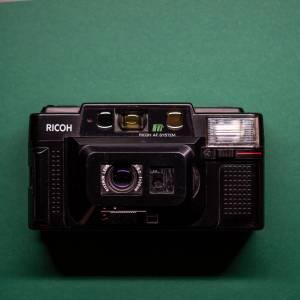 Ricoh FF-3 AF | 35mm-Kamera | FILMTESTED | guter Zustand | schwarz | Point-and-Shoot Bild 7