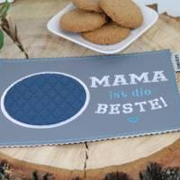 """MugRug """"MAMA ist die BESTE!"""" / Tassenteppich / Untersetzer Bild 4"""
