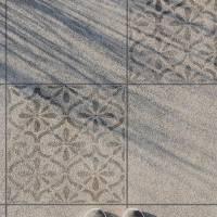 Schablone für Betonplatten - Terassenplatten Schablone - Fliesen Schablone Bild 3
