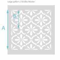 Schablone für Betonplatten - Terassenplatten Schablone - Fliesen Schablone Bild 4