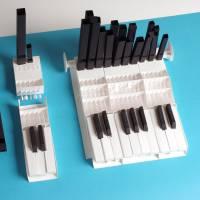 Bausatz für eine funktionstüchtige modulare Papierorgel, Kickstarter Kampagne, Musikinstrument bauen, musikalisches Proj Bild 1