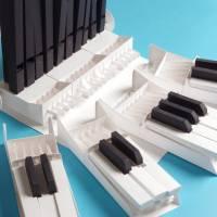 Bausatz für eine funktionstüchtige modulare Papierorgel, Kickstarter Kampagne, Musikinstrument bauen, musikalisches Proj Bild 3