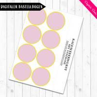 Digitale Bastelbogen: Aufschnitt, Wurst, Käse und Tofu für den Kaufladen Bild 4