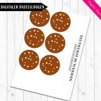Digitale Bastelbogen: Aufschnitt, Wurst, Käse und Tofu für den Kaufladen Bild 5