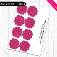 Digitale Bastelbogen: Aufschnitt, Wurst, Käse und Tofu für den Kaufladen Bild 6