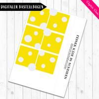 Digitale Bastelbogen: Aufschnitt, Wurst, Käse und Tofu für den Kaufladen Bild 7