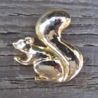 Vintage Brosche Eichhörnchen Bild 1