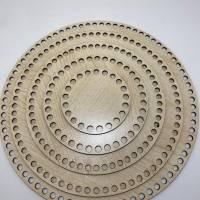 Korbboden Holzboden Boden korb Rund Oval Kreis Viereck Quadrat Häkelboden für Häkelkorb Mdf  Holzböden Häkelkörbe Holzbö Bild 1