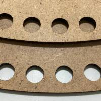 Korbboden Holzboden Boden korb Rund Oval Kreis Viereck Quadrat Häkelboden für Häkelkorb Mdf  Holzböden Häkelkörbe Holzbö Bild 5