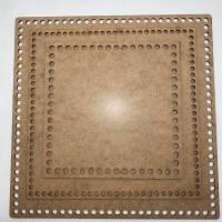 Korbboden Holzboden Boden korb Rund Oval Kreis Viereck Quadrat Häkelboden für Häkelkorb Mdf  Holzböden Häkelkörbe Holzbö Bild 8