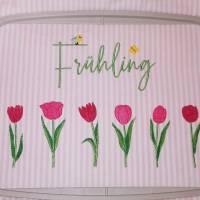 Frühling Tulpen Doodle Stickdatei ab 10x10 Bild 10