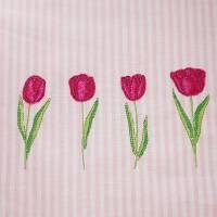Frühling Tulpen Doodle Stickdatei ab 10x10 Bild 5