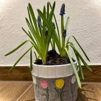 Frühling Tulpen Doodle Stickdatei ab 10x10 Bild 8