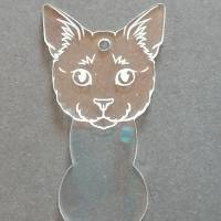 Silikonform Wagenchip Katzenkopf Bild 2