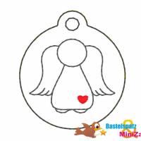 Stickdatei - ITH - Anhänger Engel Bild 1