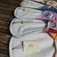 5er SET waschbare Slipeinlagen und Binden in 4 verschiedenen Stärken *Upcycling-Produkt* Bild 9