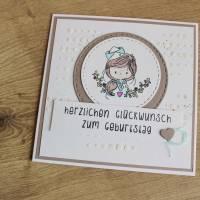 """Geburtstagskarte Kindergeburtstag """"Kleiner Matrose"""" oder """"Kleine Matrosin"""" aus der Manufaktur Karla Bild 4"""
