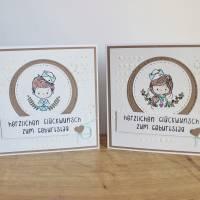 """Geburtstagskarte Kindergeburtstag """"Kleiner Matrose"""" oder """"Kleine Matrosin"""" aus der Manufaktur Karla Bild 8"""